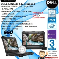 DELL Latitude 5424 Rugged Intel Core i3-7130U/8GB/512GB SSD/WIN10PRO