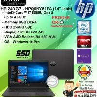 "HP 240 G7 - HPQ6NY61PA (14"" Inch) Core i7-8565U/8GB/256GB/WIN10PRO/1YR"