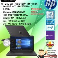 """HP 250 G7 - 6SB46PA (15"""" Inch) Core i5 8265U/4GB/1TB/WIN10PRO/1YR"""