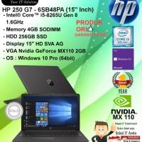 "HP 250 G7 - 6SB48PA (15"" Inch) Core i5 8265U/4GB/256GB/WIN10PRO/1YR"