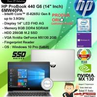 HP ProBook 440 G6 - 6MW40PA Core i5-8265U/8GB/256GB SSD/WIN10PRO/1YR