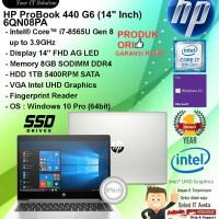 HP ProBook 440 G6 - 6QN08PA Core i7-8565U/8GB/1TB SATA/WIN10PRO/1YR