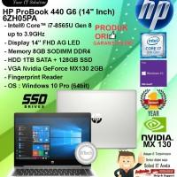 HP ProBook 440 G6 - 6ZH05PA Core i7-8565U/8GB/1TB+128GB/WIN10PRO/1YR