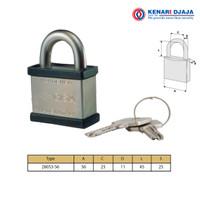Gembok CISA |Hardened Steel Padlock CISA 28053-56-astral