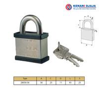 Gembok CISA |Hardened Steel Padlock CISA 28056-56