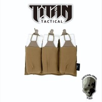 TMC LIGHT THREE MAG POUCH COYOTE BROWN