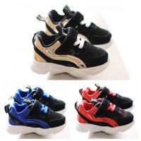 SPT15 - sepatu sneakers off list glossy walker shoes anak balita kets