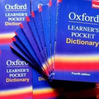 kamus poket/kamus saku Oxford Learners Poket Dictionary edisi 4