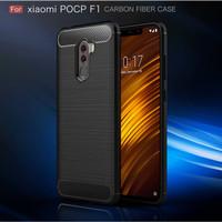 CAFELE Pocophone F1 - Carbon Fiber Slim Soft Case [ORIGINAL]