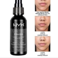 nyx matte finish long lasting durable spray