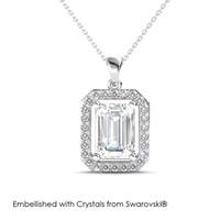 Regal Pendant - Kalung Crystal Swarovski by Her Jewellery