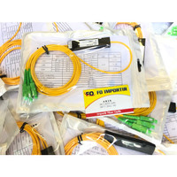Passive splitter / pasif spliter 1:2 fiber optic SC /APC (BAGUS)