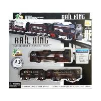 Rail King BO TL02 - Mainan Anak Gerbong Kereta API Set