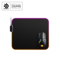 Steelseries Qck Prism Medium Cloth RGB- Gaming Mouse Pad