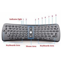 32d2f30e06b JUAL Wireless Gyroscope Air Mouse Keyboard PC Smart TV Android TV