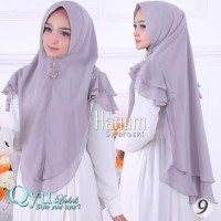 Murah Jilbab Instan Hijab Syari Kerudung Khimar Ceruti Sifon Hanum