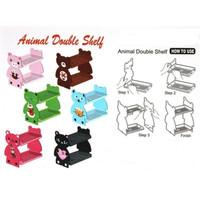 Animal Double Shelf - Rak Multifungsi 2 Susun