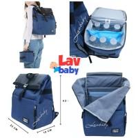 Natural Moms Backpack Flip cooler bag tas simpan asi bisa spectra s1