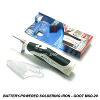 Battery-Powered Soldering Iron - Goot MSD-20