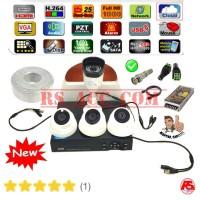 Murah Promo Paket 4 Camera Cctv 3MP hardisk 1TB Komplit Tinggal