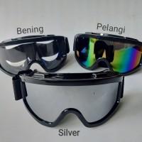 Kacamata / google untuk sepeda motor cross trail anti debu