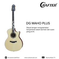Crafter DG Maho Plus Acoustic Electric Guitar