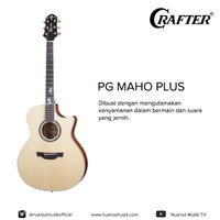 Crafter PG Maho Plus Acoustic Electric Guitar