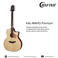 Crafter KAL-MAHO Premium Acoustic Electric Guitar