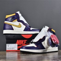 Air Jordan 1 x SB Dunk 'Lakers to Chicago' (UNAUTHORIZED AUTHENTIC)