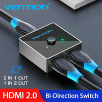 HDMI Switcher Vention AFL 2in-1Out | 1in2Out 4K 1080p HDMI2.0