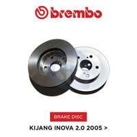 Brake Disc Rotor Innova Oversize 320mm Brembo Original 09A10911