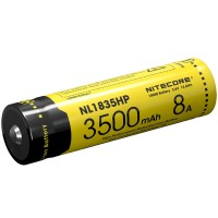 Baterai NITECORE 18650 Li-ion 3500mAh 3.6V 8A -NL1835HP