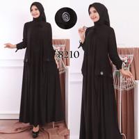 Baju Muslim Terbaru Gamis Wanita Gamis Polos BCL Jersey Belmont 016812
