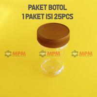 Botol Sambal Plastik PET jar 150ml Bumbu Toples Selai