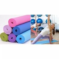 Matras Yoga/ Yoga Mat Bonus Tas high quality/ matras olahraga