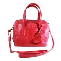 Handbag Milea Merah- Kenes Leather Bag