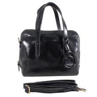 Handbag Milea Black - Kenes Leather Bag