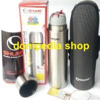 Botol Minum Termos 1 LITER Thermos Mini Stainless Vacuum Bottle SHUMA
