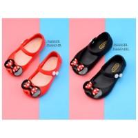 SPT18 - jelly shoes pita sepatu anak balita cewek perempuan flat shoes