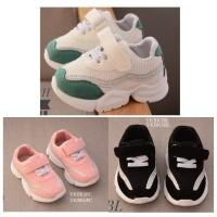 SPT19 - sepatu sneakers glitter anak balita walker shoes