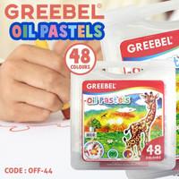 CRAYON GREEBEL OIL PASTELS KRAYON 48 WARNA - OFF-44