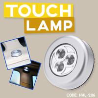 STICK AND CLICK TOUCH LAMP - LAMPU LED LEMARI TEMPEL - HHL-206