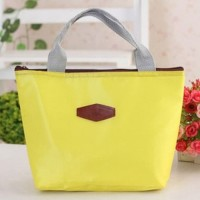 Tas Bekal Lunch Bag Tote - Yellow