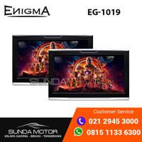 Enigma EG 1019 - Headrest Monitor ClipOn 10 Inch Android (1 Set)