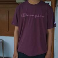 Champion Men Vintage Dye Tshirt BIGSIZE - Kaos Pria JUMBO SIZE BRANDED
