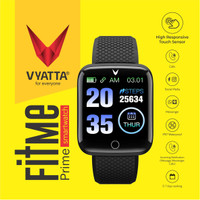 VYATTA FitMe Prime Smartwatch - ColorLCD, HeartRate, Oxygen,Waterproof
