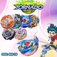 Mainan Beyblade Gasing Tornado Burst (Min-116)