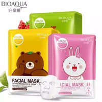 ORIGINAL BIOAQUA ANIMAL MOUISTURIZING FACIAL SHEET MASK - MASKER LINE