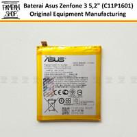 Baterai Asus Zenfone 3 5.2 Inch ZE520KL C11P1601 Original OEM Batre