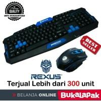 Keyboard Mouse Gaming Rexus Warfaction VR2 Keyboard Mouse Gaming